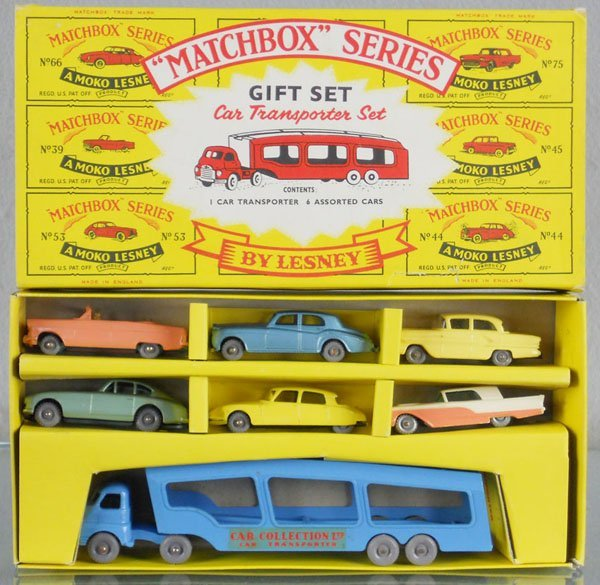 218: MATCHBOX CAR TRANSPORTER GIFT SET G2
