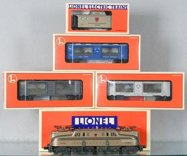 1: LIONEL MINT CAR TRAIN SET