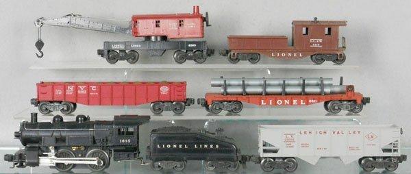 13: LIONEL TRAIN SET