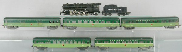 44: FLEISCHMANN & PENN LINE US TRAIN SET