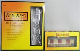 117 2 MTH RAIL KING ACCESSORIES