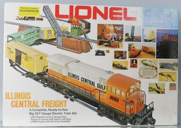 124: LIONEL 1664 ILLINOIS CENTRAL TRAIN SET