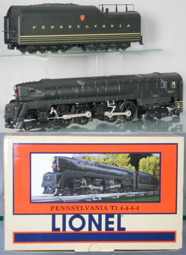 454: LIONEL 28063 PRR T1 LOCO & TENDER