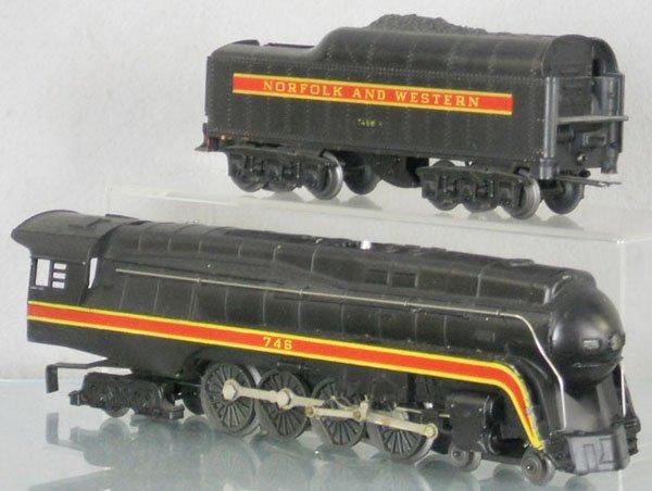 1: LIONEL 746 NORFOLK & WESTERN LOCO & TENDER