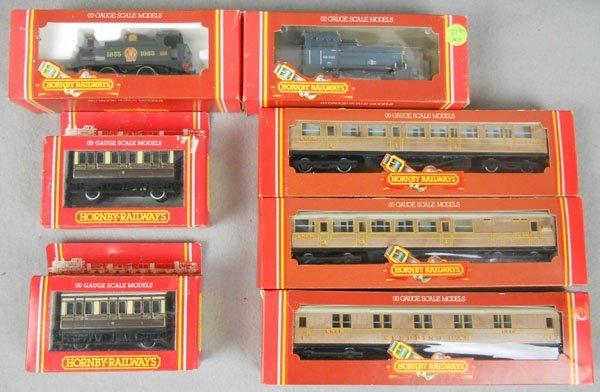 5: HORNBY TRAIN LOT