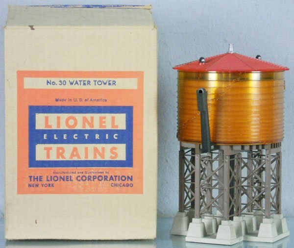 8: LIONEL 38 WATER TOWER