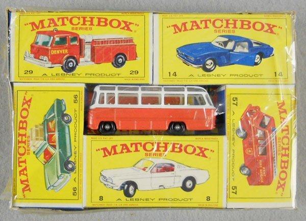 5: MATCHBOX 1968 SIX PACK