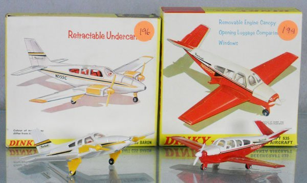 16: 2 DINKY AIRPLANES