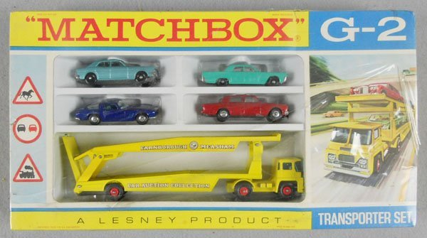 26: MATCHBOX G2 TRANSPORTER SET