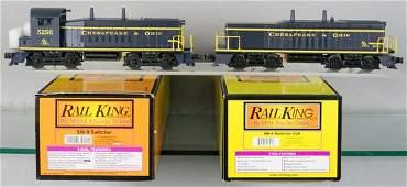 MTH RAIL KING CO SWITCHER SET