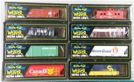 8 WEAVER FREIGHT CARS