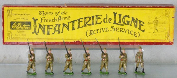 BRITAINS 192 FRENCH INFANTRY OF THE LINE