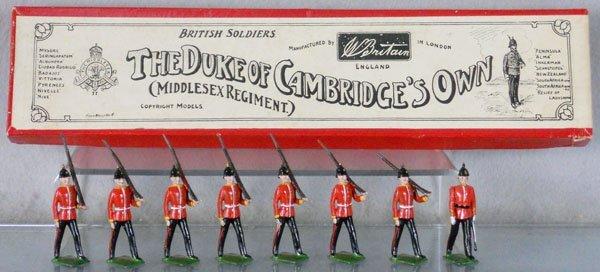BRITAINS 76 MIDDLESEX REGIMENT