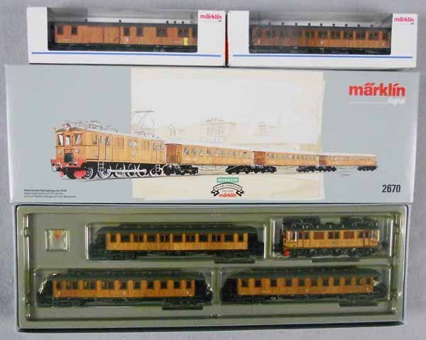 MARKLIN FLEISCHMANN TRAIN SET