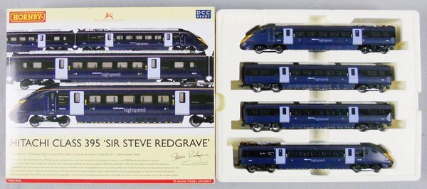 HORNBY R2972 HITACHI CLASS 395 SIR STEVE REDGRAVE SET