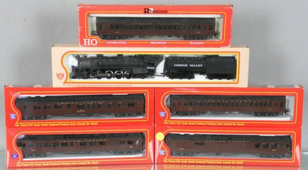 IHC RIVAROSSI LEHIGH VALLEY TRAIN SET