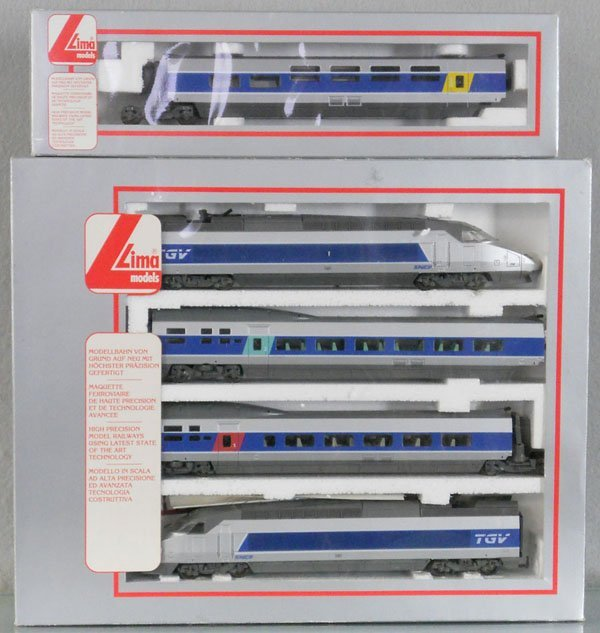 LIMA TGV FRENCH TRAIN SET