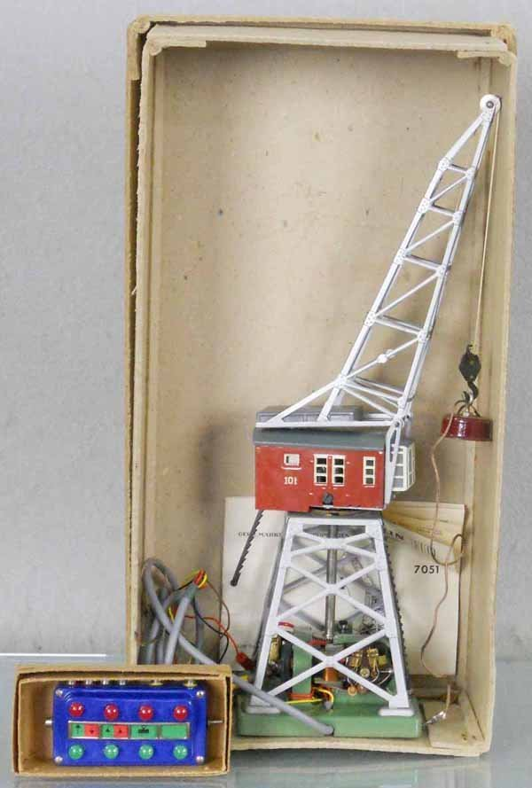 MARKLIN 7051 MAGNETIC CRANE