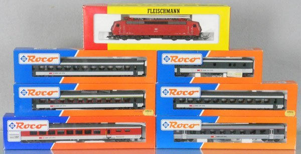 FLEISCHMANN & ROCO TRAIN SET