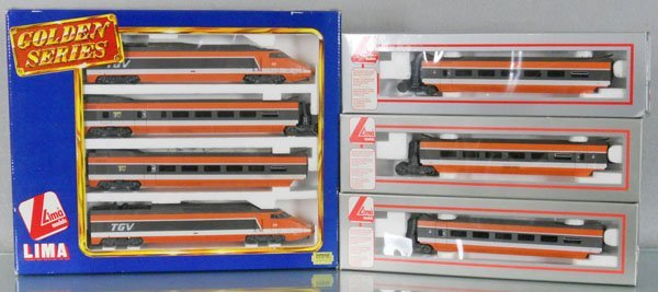 LIMA TGV TRAIN SET