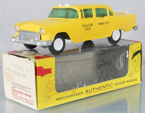 PMC 2354A 1955 CHEVY YELLOW CAB PROMO