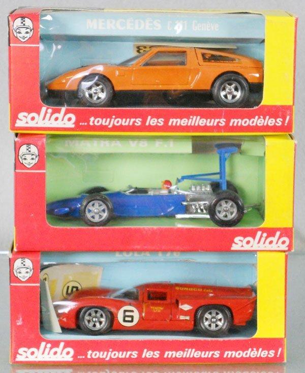 3 SOLIDO AUTOS
