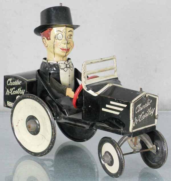 MARX CHARLIE McCARTHY CRAZY CAR