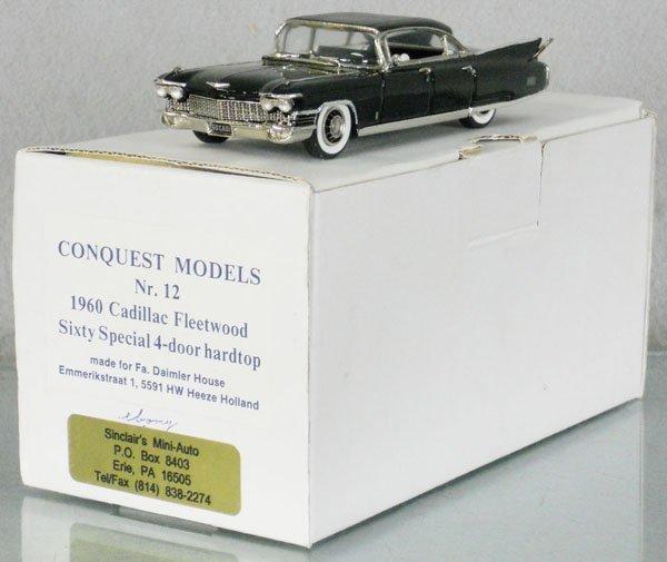 CONQUEST MODELS #12 1960 CADILLAC FLEETWOOD