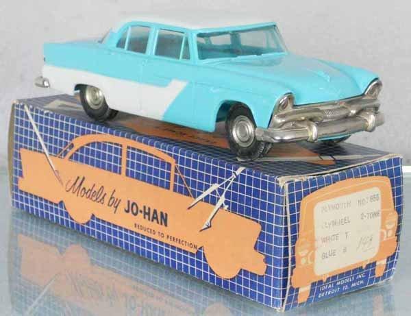 JO-HAN 1955 PLYMOUTH BELVEDERE PROMO