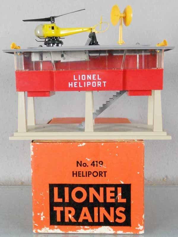 LIONEL 419 HELIPORT