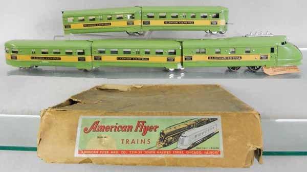 AMERICAN FLYER GREEN DIAMOND TRAIN SET