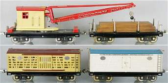 4 MTH LIONEL FREIGHT CARS