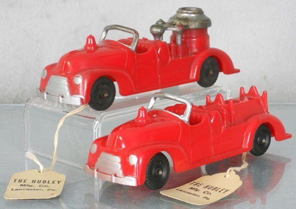 2 HUBLEY SAMPLE FIRE TRUCKS