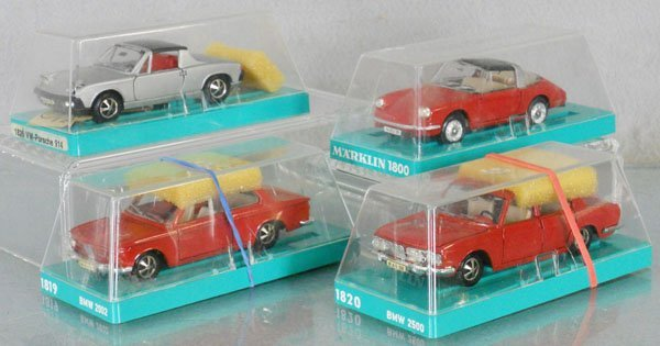 4 MARKLIN AUTOS