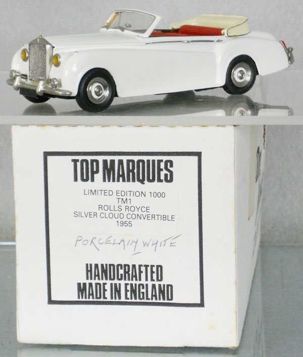 TOP MARQUES 1955 ROLLS ROYCE SILVER CLOUD