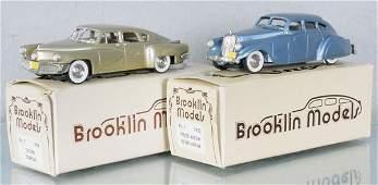 2 BROOKLIN MODELS AUTOS