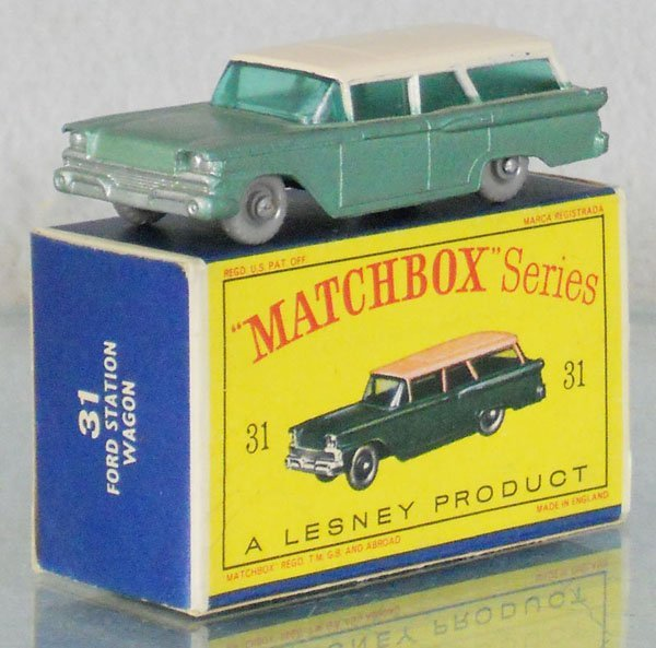 MATCHBOX 31B6 FORD FAIRLANE STATION WAGON