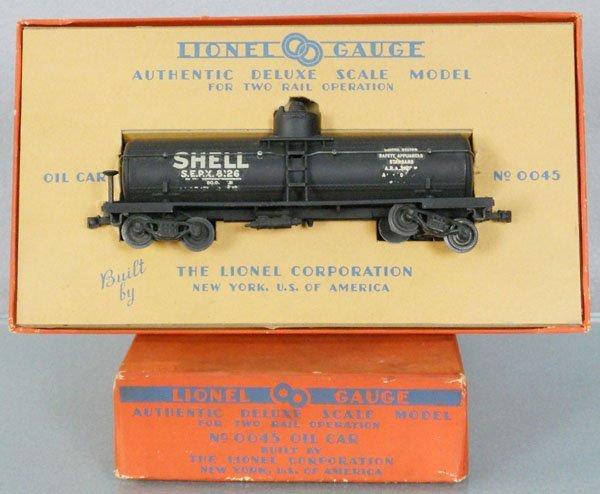 LIONEL 0045 OIL CAR
