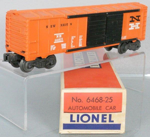 LIONEL 6468-25 NEW HAVEN AUTOMOBILE CAR