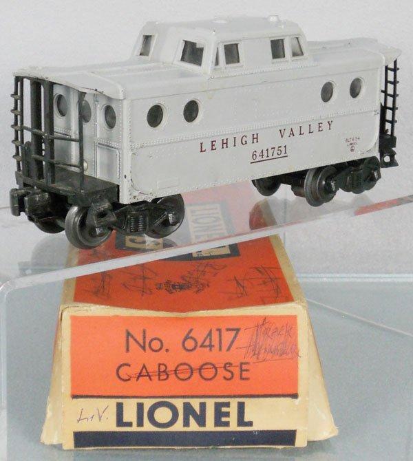 LIONEL 6417-50 LV CABOOSE
