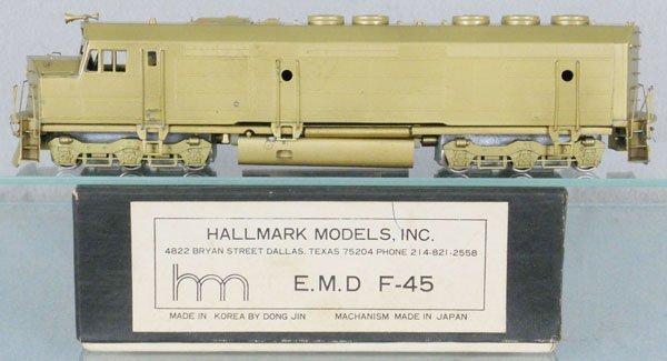 HALLMARK EMD F-45 DIESEL LOCO