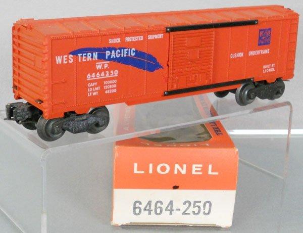 LIONEL 6464-250 WESTERN PACIFIC BOX CAR