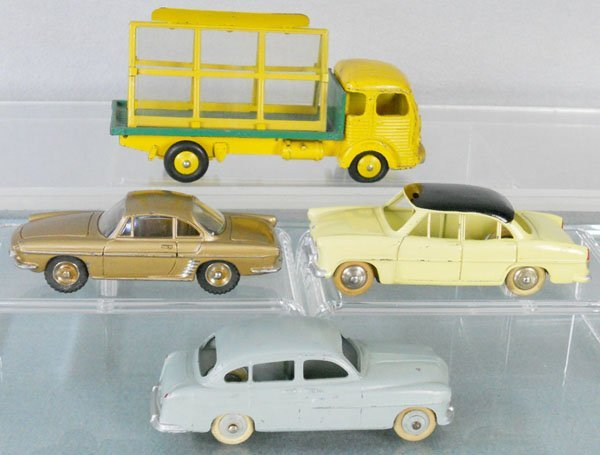4 FRENCH DINKY AUTOS