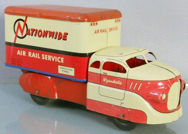 WYANDOTTE NATIONWIDE AIR RAIL SERVICE TRUCK