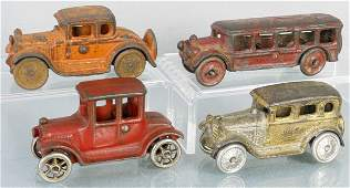 4 AC WILLIAMS  HUBLEY TOY AUTOS