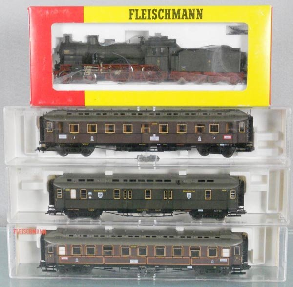 FLEISCHMANN EP1 PRUSSIAN TRAIN SET