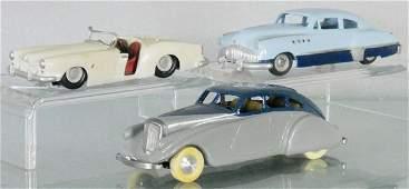 3 WHITE METAL MODELS