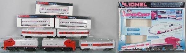 LIONEL 11739 SUPER CHIEF TRAIN SET