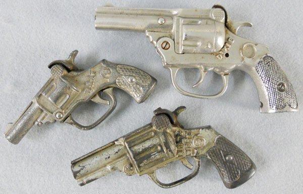 3 KENTON CAP GUNS