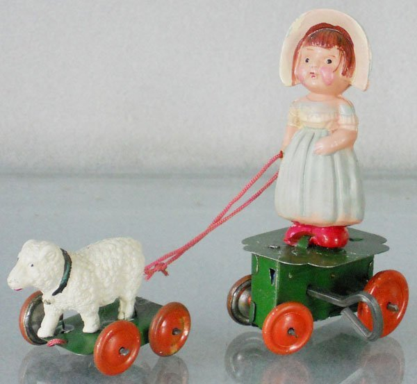MARY & HER LITTLE LAMB TOY